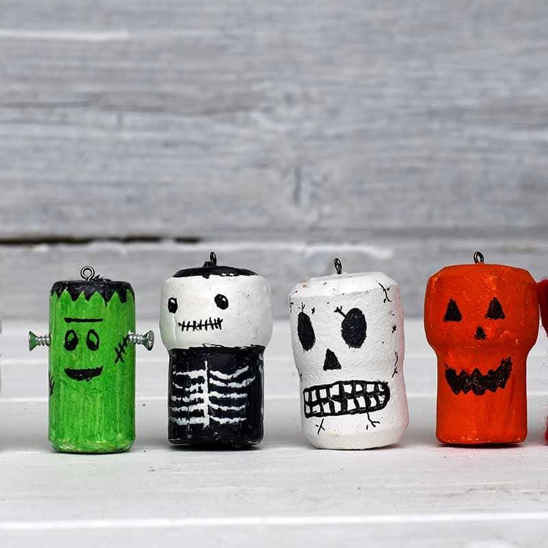 Halloween corks