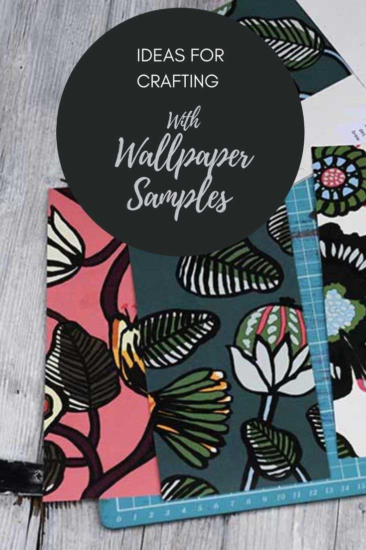 Crafting with wallpaper ideas