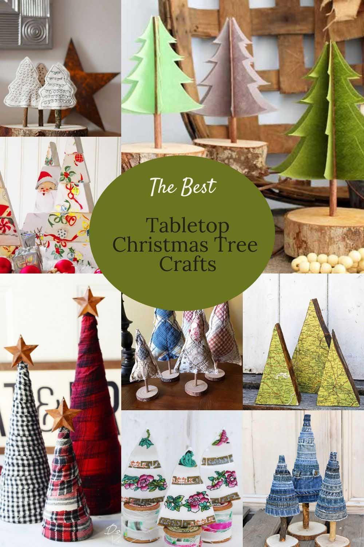 The Best Diy Tabletop Christmas Tree Ideas Pillarboxblue Pillar Box Blue
