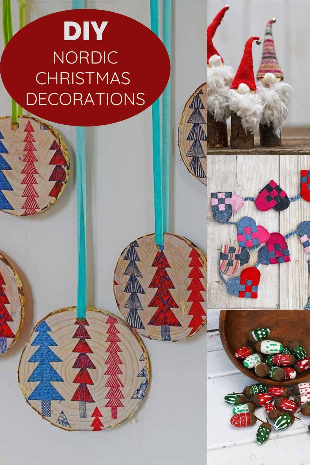 DIY Nordic Christmas crafts