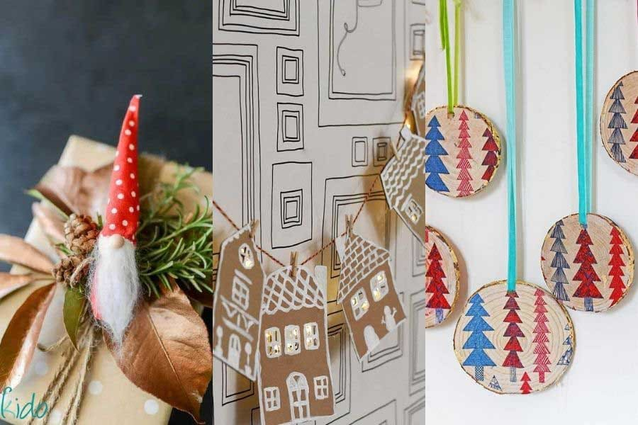 DIY Scandinavian Christmas decorations