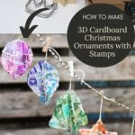 DIY Cardboard Christmas decorations