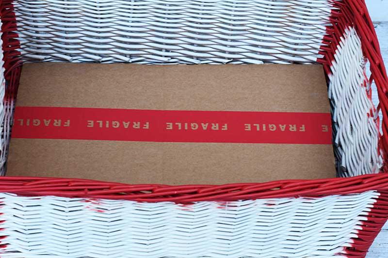Cardboard insert
