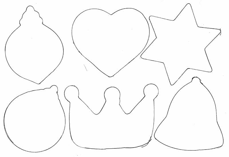 cookie cutter shapes