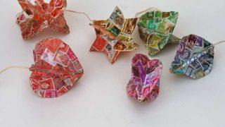 3D DIY Cardboard Christmas decorations
