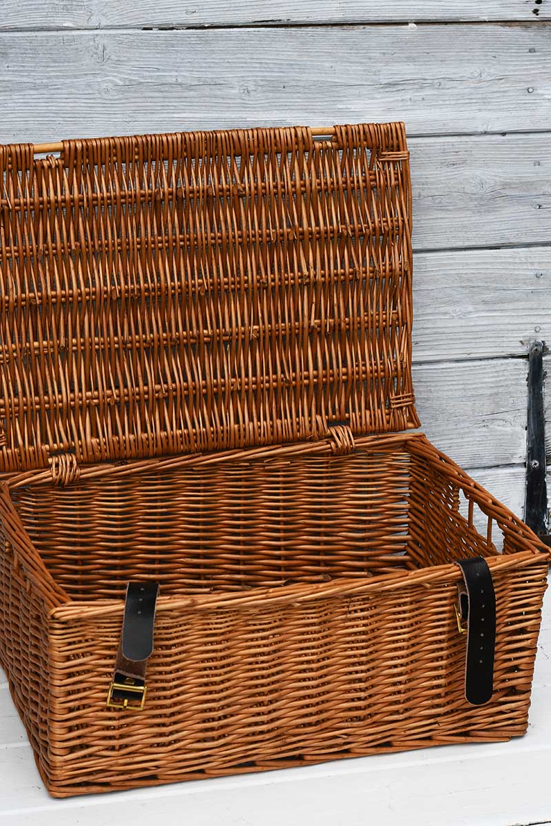 Wicker basket before