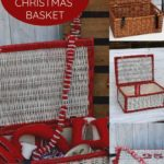 how to upcycle a Christmas hamper