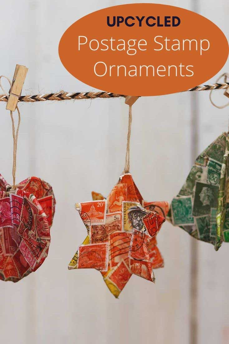 stamp ornaments