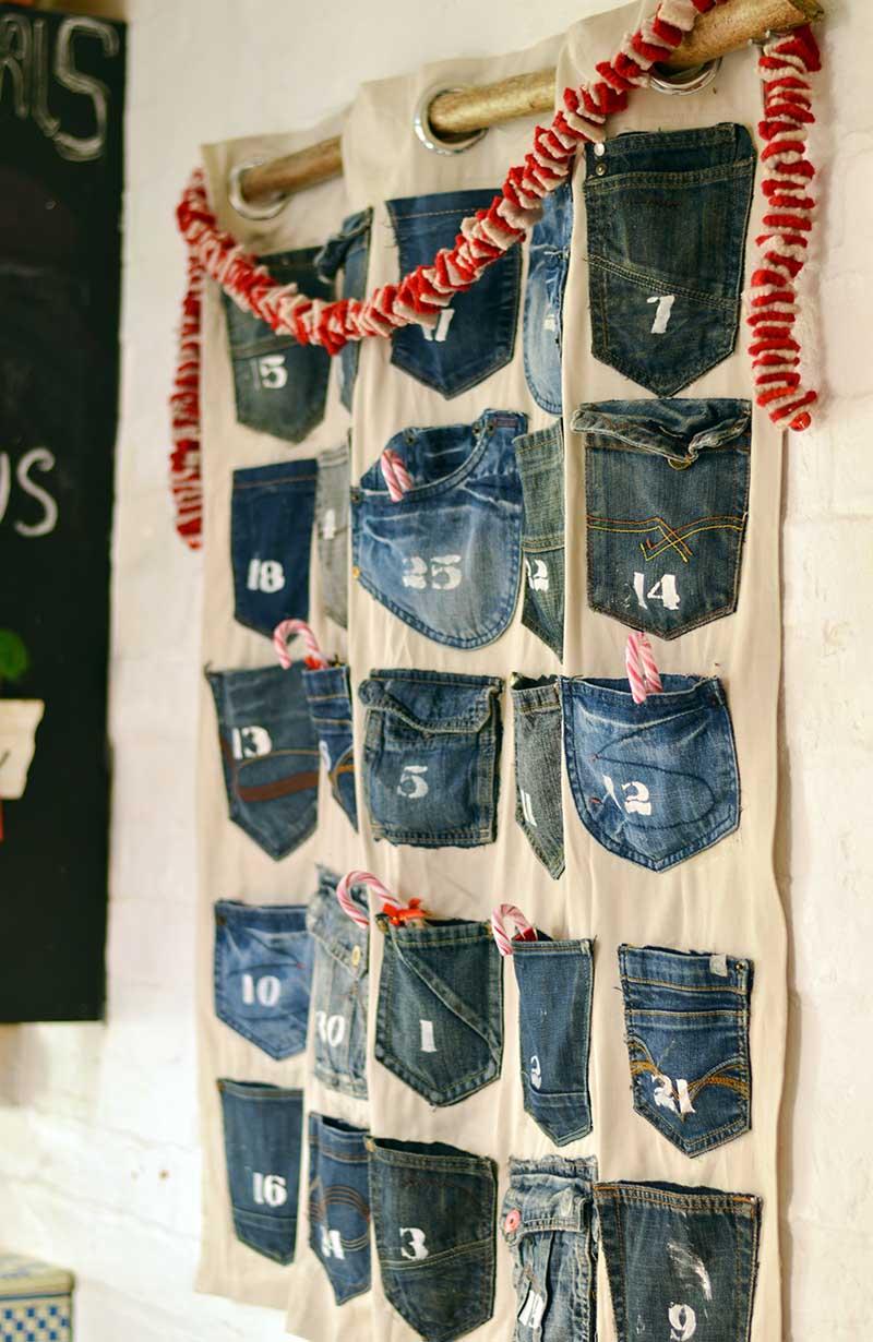 Handmade Denim Advent Calendars