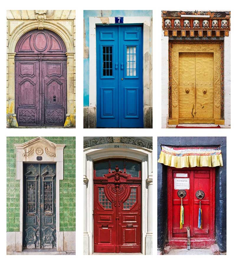 pictures of doors for sardine can ornament
