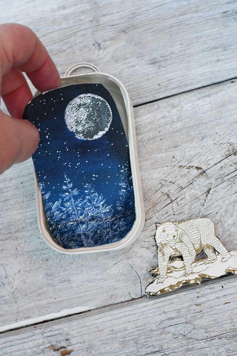 Making polar tin can