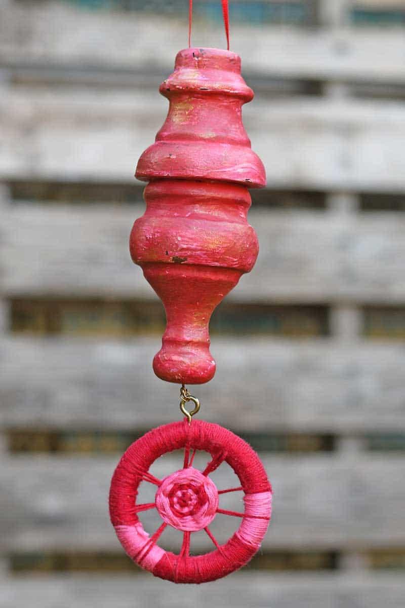 DIY wooden ornament