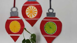 upcycled-cardboard-Christmas-decorations