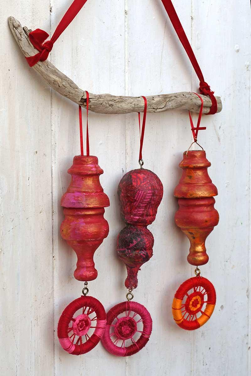 repurposed wood ornaments