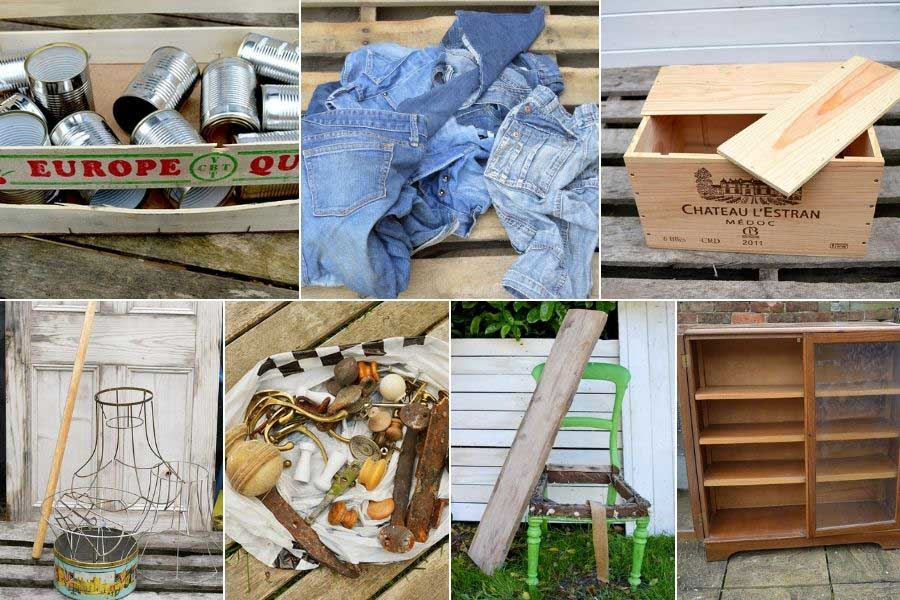 A to Z upcycling ideas