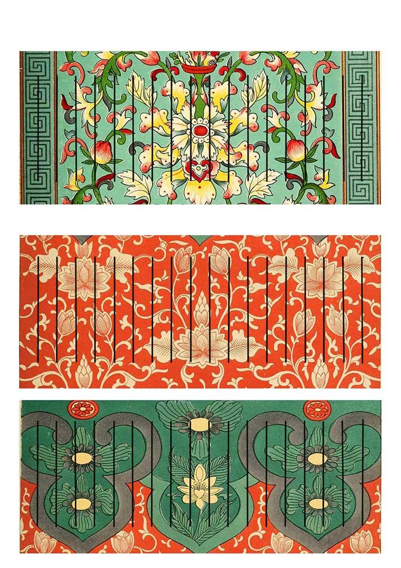 Chinese paper lantern templates 1