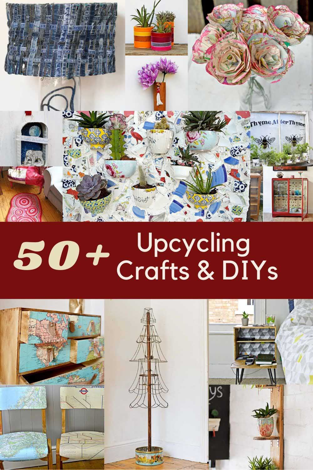 Clever Upcycling crafts and DIYS
