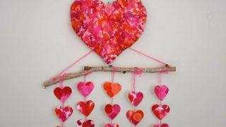 3d Paper mache heart