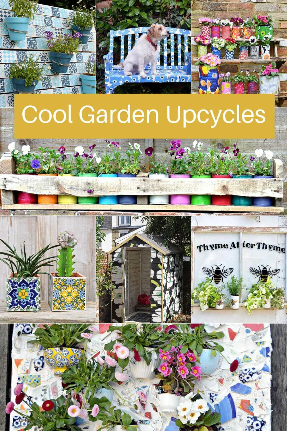 Cool garden upcycles
