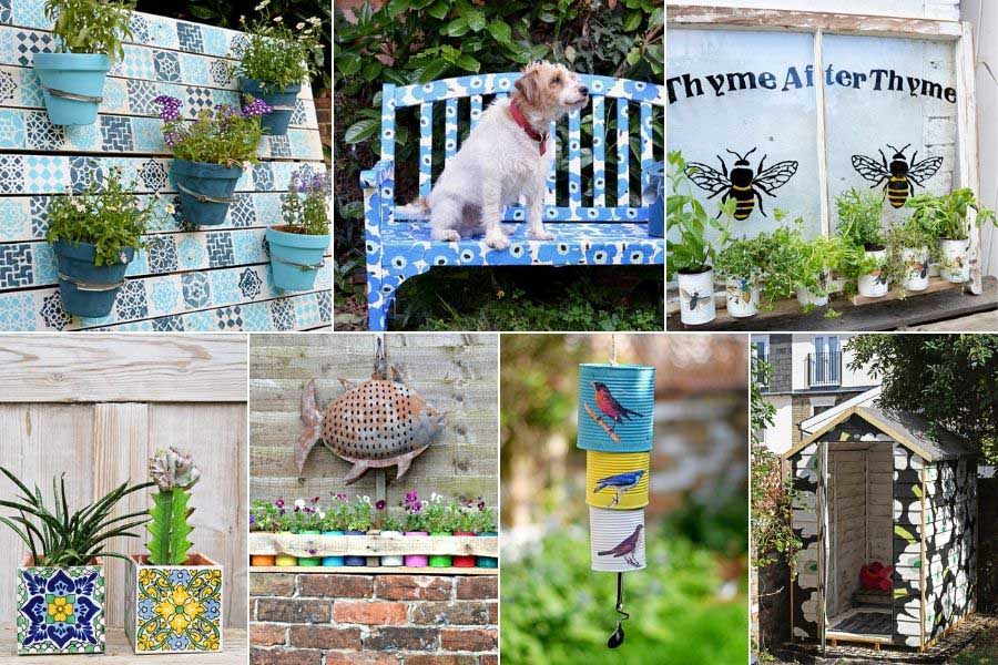 cool garden upcycling ideas