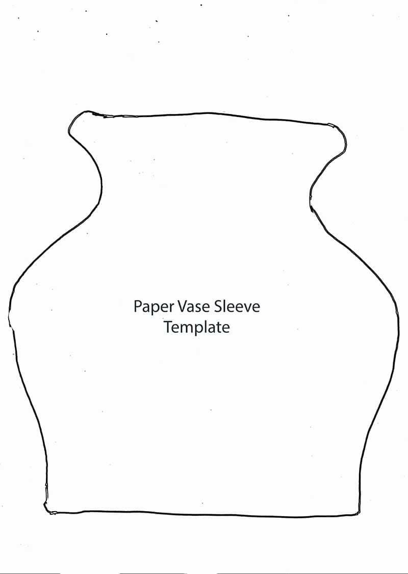 paper  sleeve template