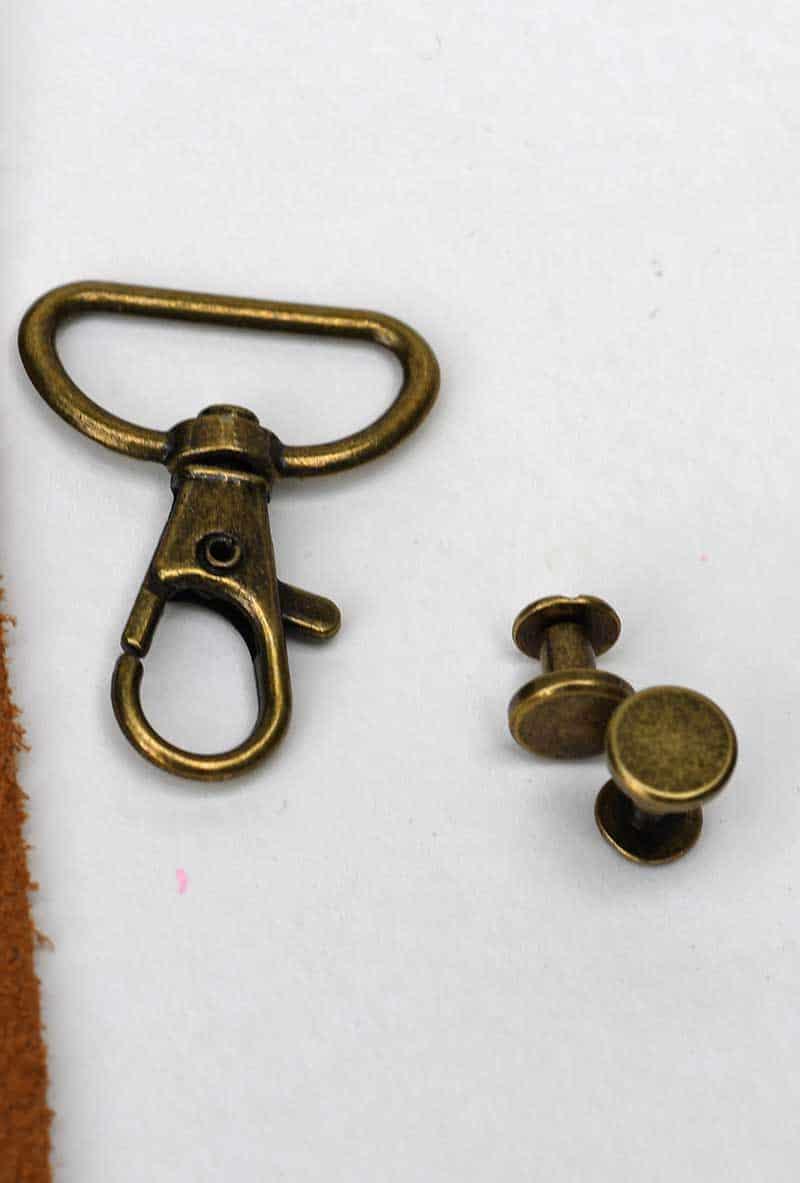 Lobster Clip and Chicago Screws