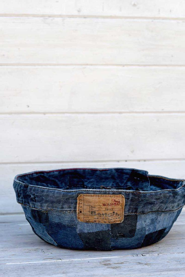 upcycled-patchwork-denim-fabric-bowl