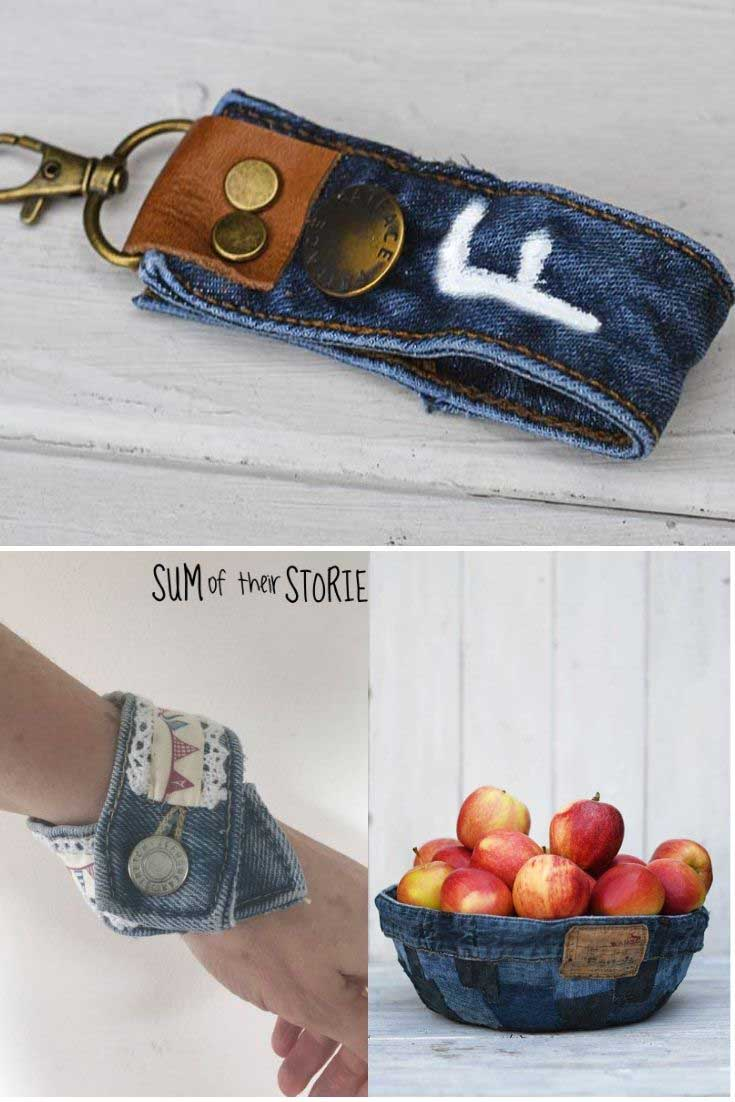 What you can make from a denim waistband