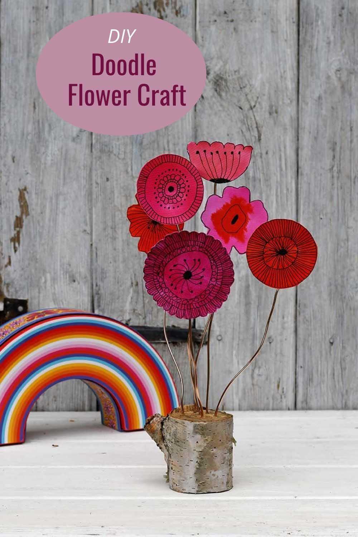 DOODLE-flower-craft