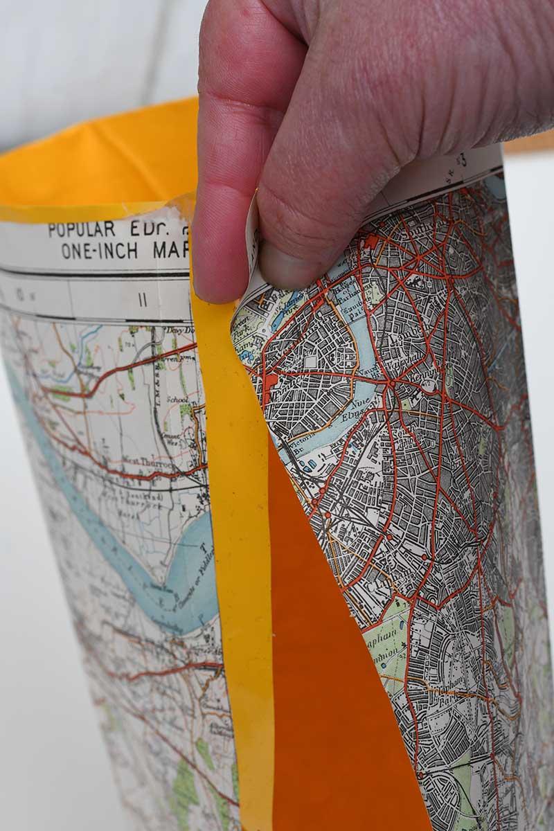Making map tube