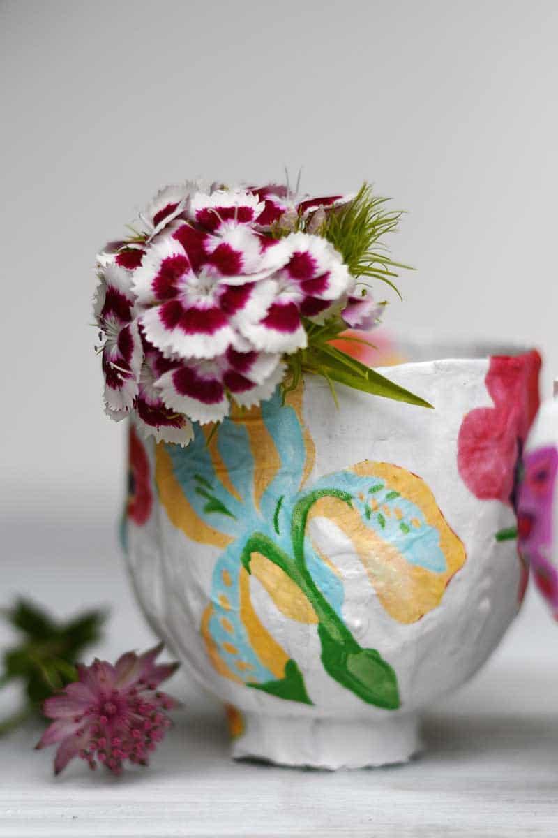 paper mache cup