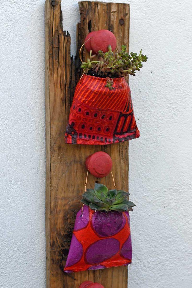 Marimekko Soda Can planters