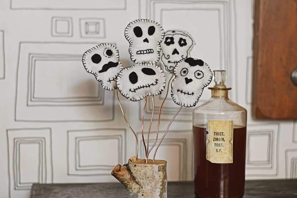 Scandinavian Halloween Decoration