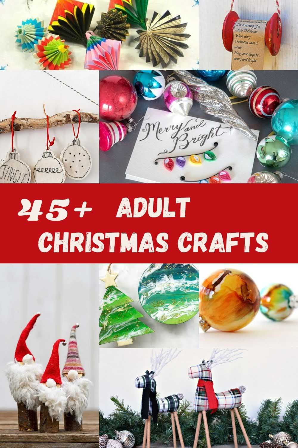 Cool adult Christmas crafts