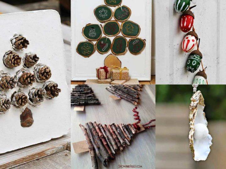 Nature Christmas Crafts