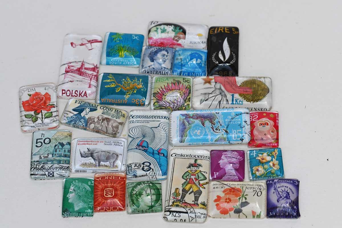 best postage stamp craft ideas