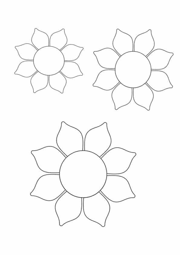 denim fabric sunflower pattern