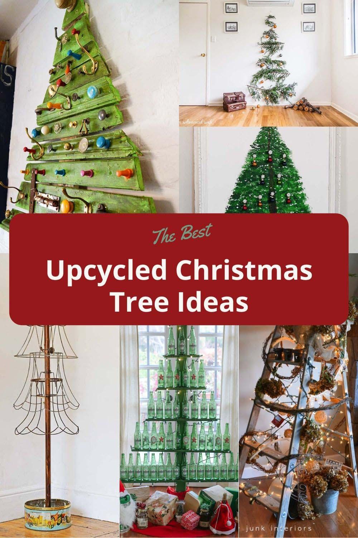 Alternative & upcycled Christmas trees